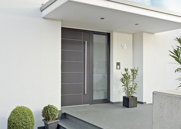 Aluminium haustüren  Alu-Haustüren von AiP Aluminium in Perfektion